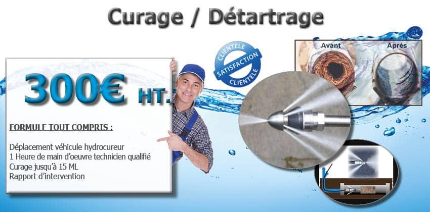 Curage et detartrage Promotion Véhicule hydrocureur