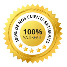 logo satisfait100 canalisation engorgées